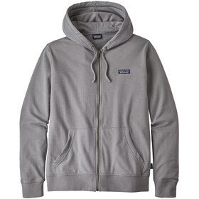 Patagonia P-6 Label LW Sweat à capuche zippé Homme, feather grey
